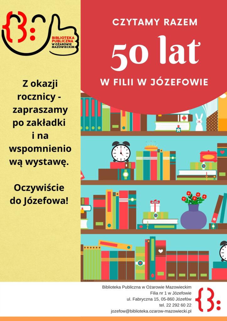 50 lat Józefowa - plakat